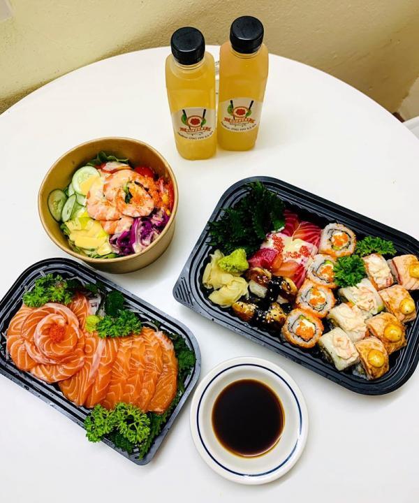 Địa chỉ ăn Sushi ngon, Sussert - Fusion Sushi Takeaway 4