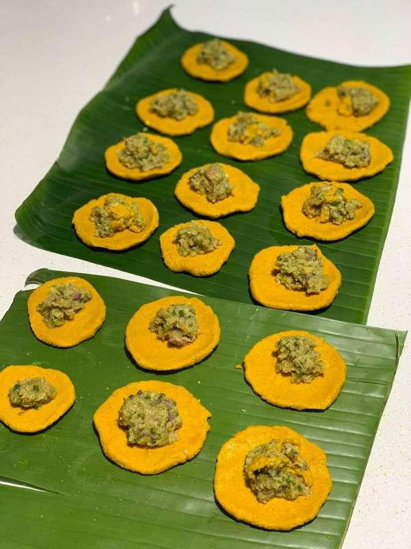 Cách làm Bánh Nghệ, món ngon đặc trưng Thái Bình 20