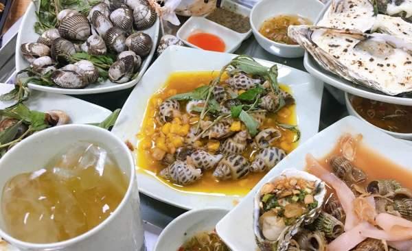 [Review] - Ốc Anh Béo Số 1 Nguyễn Hiền, Hàu nướng, Sò lông nướng, Càng ghẹ rang muối 65