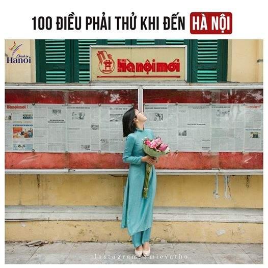 101 điều phải thử khi đến Hà Nội, Bạn Có Biết ? 2