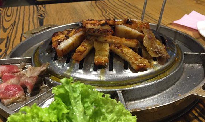 [Review] - Quán nướng lẩu bia Hàn quốc Buk buk tầng 1 Aeon mall long biên 56