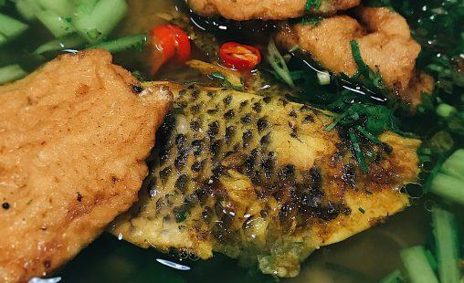 [Review] - Bánh Đa Cá Rô Đồng xịn xò ở Võ Chí Công