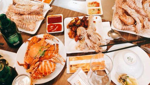 [Góc so sánh] Buffet hải sản Chef Dzung, Poseidon, Sen 58