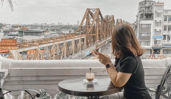 [Review Serein Cafe&lounge] - Cafe View Cầu Long Biên - 16 Trần Nhật Duật