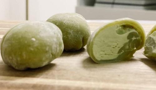 [Công Thức] Cách làm Mochi kem tươi trà xanh 8