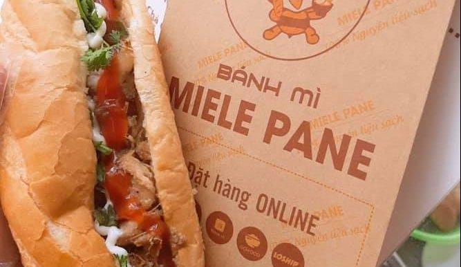 [Góc Khen] Bánh mì Miele Pane cổng viện E Trần Cung 7