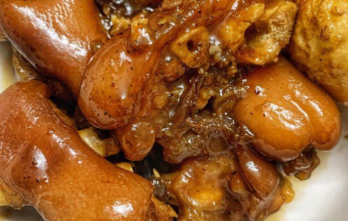 [Món Ngon Mỗi Ngày] - Nấu Cơm 2 người ăn Chân giò kho trứng + Canh Cua 59