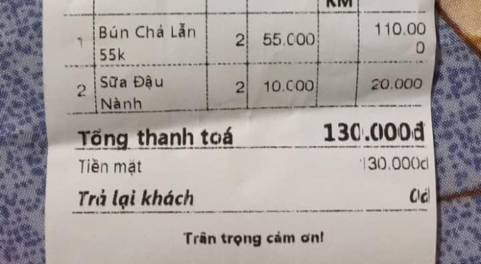 [Góc ngộ độc] Bún chả sinh từ số 2 Nguyễn Phong Sắc 55