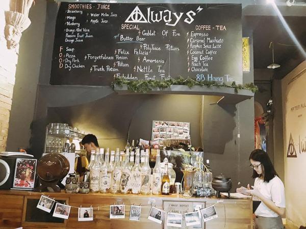 [Review Quán Coffee ] - Always 8B Hàng Tre (Dành cho fan của Harry Potter) 4
