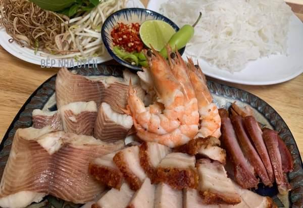 BÚN NƯỚC LÈO - món ăn đặc trưng của MIỀN TÂY, đặc sản Sóc Trăng 17