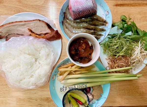 BÚN NƯỚC LÈO - món ăn đặc trưng của MIỀN TÂY, đặc sản Sóc Trăng 2
