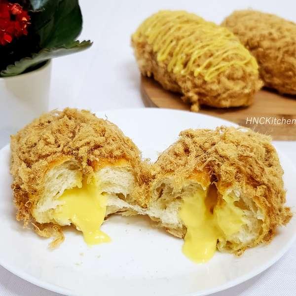 Bánh Mì Chà Bông Nhân Sốt Chảy Cực Ngon,Mềm Xốp 4