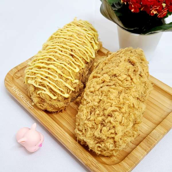 Bánh Mì Chà Bông Nhân Sốt Chảy Cực Ngon,Mềm Xốp 5