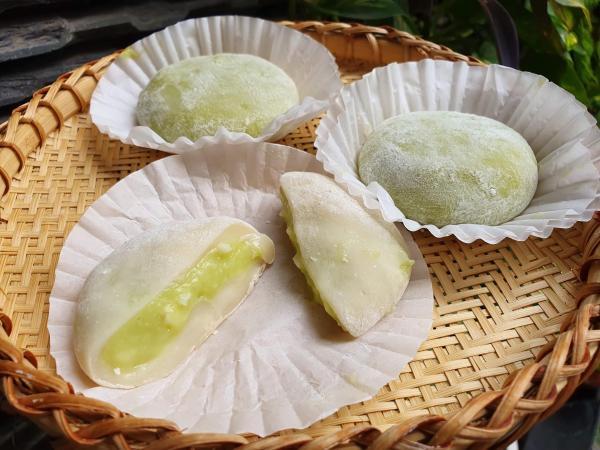 Cách làm Bánh Mochi Sữa Dừa Lá Dứa -  Món ăn tráng miệng ngon 2