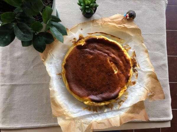 Công Thức Bánh Phô Mai Nướng Cháy - Basque Burnt Cheese Cake 3