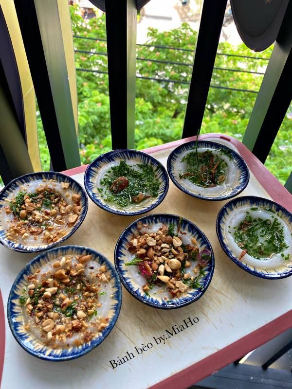 Cách làm Bánh bèo lá hẹ mắm nêm - Đặc sản Đà Nẵng 3