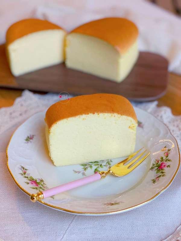 Cách làm Bánh bông lan phô mai Nhật Bản, mềm nhẹ và tan trong miệng 2