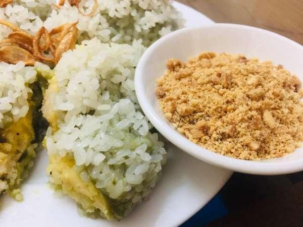 [Công Thức] Bánh khúc làm từ rau cải 4