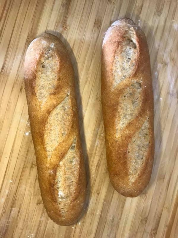 [Công Thức] Làm bánh mì Việt Nam lai kiểu Pháp Mỹ, Cách làm Bánh mỳ Baguette 14
