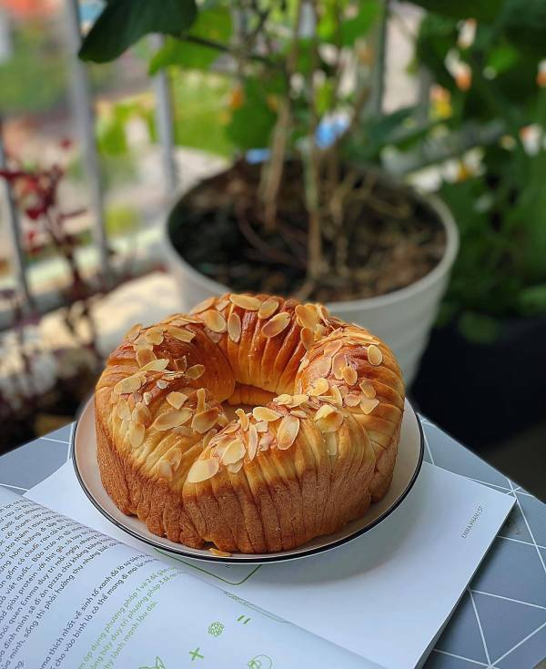 Công thức Cách làm Bánh mì Cuộn Len 2