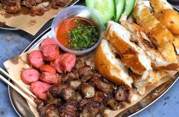 [Review] - Bánh mì nướng Lạng Sơn - 111b4 ngõ 46b Phạm Ngọc Thạch 1