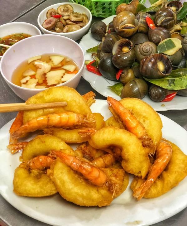 [Review] - Bánh tôm Thanh Tâm - 63 Phủ Tây Hồ 5