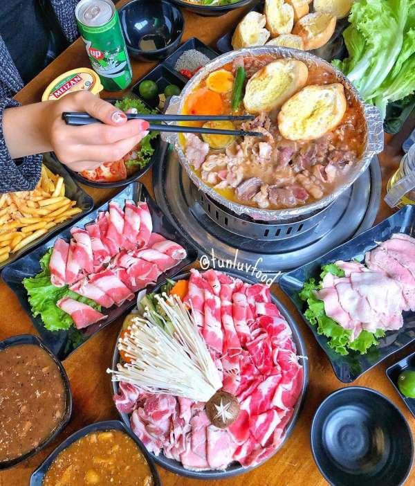 [Review] - Bò nầm nướng chảo sốt - Nhúng Quán , ngõ 298 Tây Sơn 4