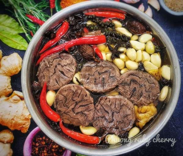 Cách làm Bắp bò ngâm ngũ vị, món ngon tuyệt vời cho ngày tết 2