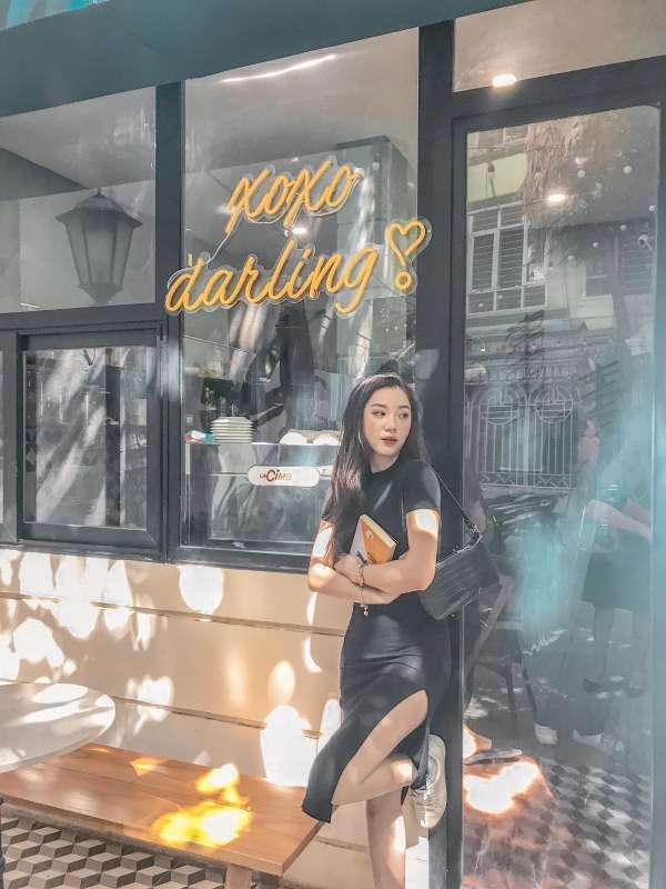 [Review] - BACKYARD COFFEE Thái Hà, quán cafe ngoài trời có ban công, view đẹp 4