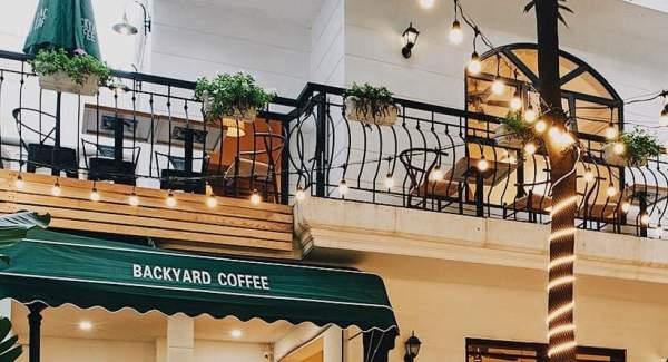 Backyard Coffee số 33A ngõ 41 Thái Hà