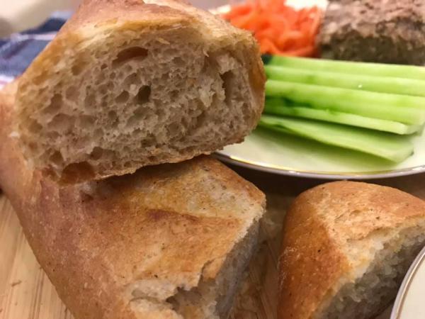 [Công Thức] Làm bánh mì Việt Nam lai kiểu Pháp Mỹ, Cách làm Bánh mỳ Baguette 13