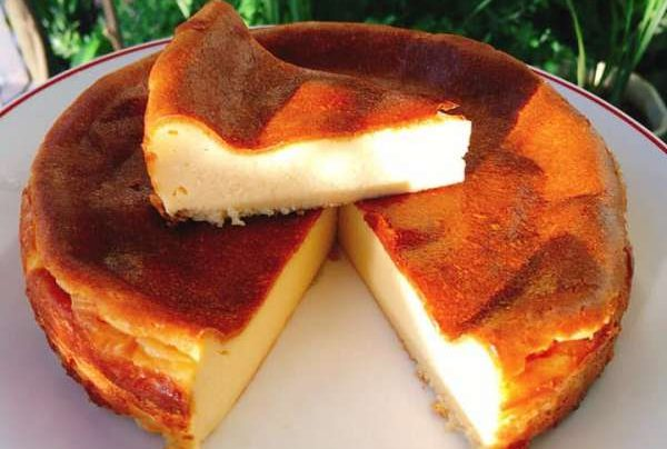 Cách làm Bánh phô mai - Basque burnt cheesecake 1