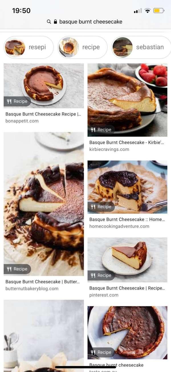 Cách làm Bánh phô mai - Basque burnt cheesecake 5