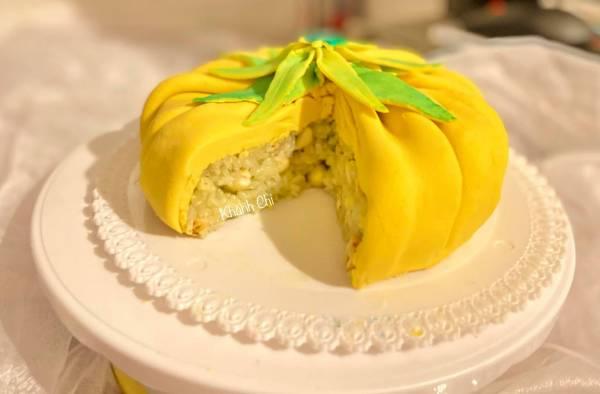 Bojagj Cake- món xôi đậu truyền thống của người Hàn 5