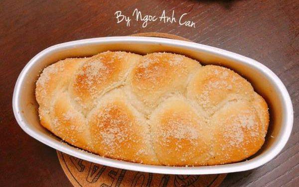 [Công Thức] Cách làm Bánh mì sữa Nhật Bản siêu mềm thơm, nhồi tay nhanh, dễ 6