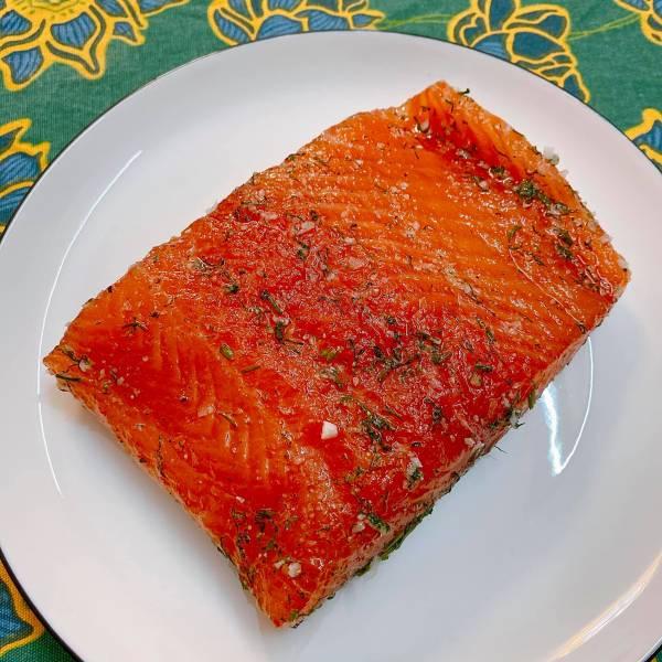 Cá hồi muối - Cách muối Cá Hồi, cực ngonnn 22