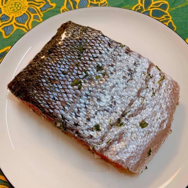 Cá hồi muối - Cách muối Cá Hồi, cực ngonnn 23