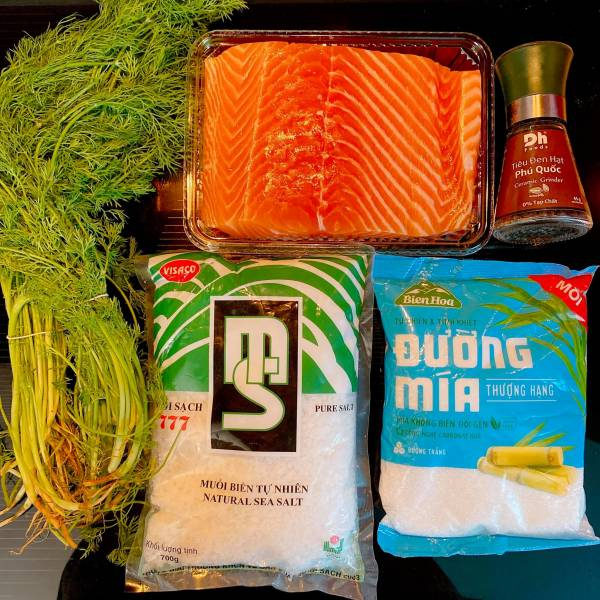 Cá hồi muối - Cách muối Cá Hồi, cực ngonnn 4