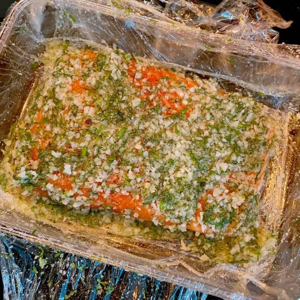 Cá hồi muối - Cách muối Cá Hồi, cực ngonnn 10