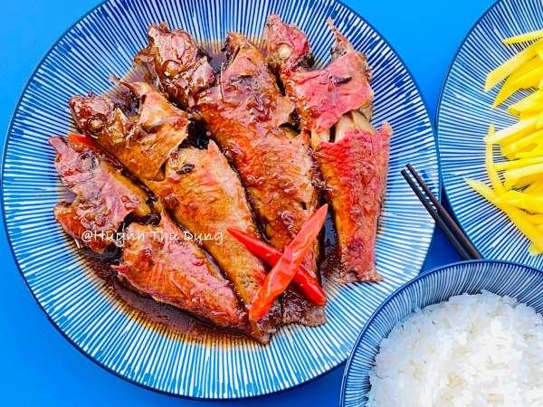 Công Thức Cá kho tộ với thịt ba rọi cực chất lừ 5