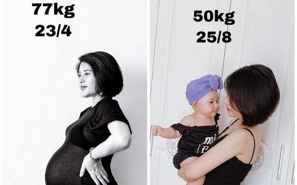 Cách Giảm Mỡ, Giảm cân sau sinh không thuốc, không trà giảm cân 13
