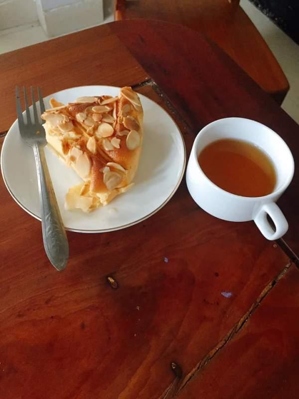 [Công Thức] Cách làm Bánh Gato Sữa Chua Táo 4