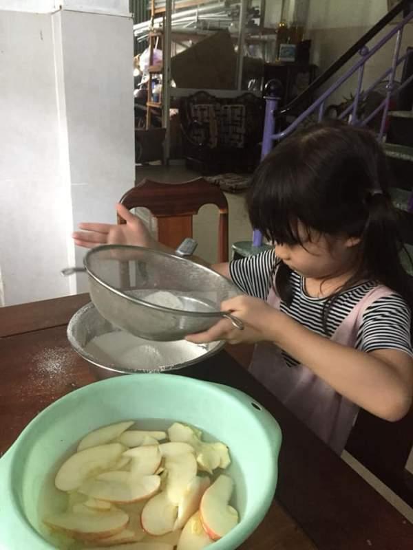 [Công Thức] Cách làm Bánh Gato Sữa Chua Táo 2