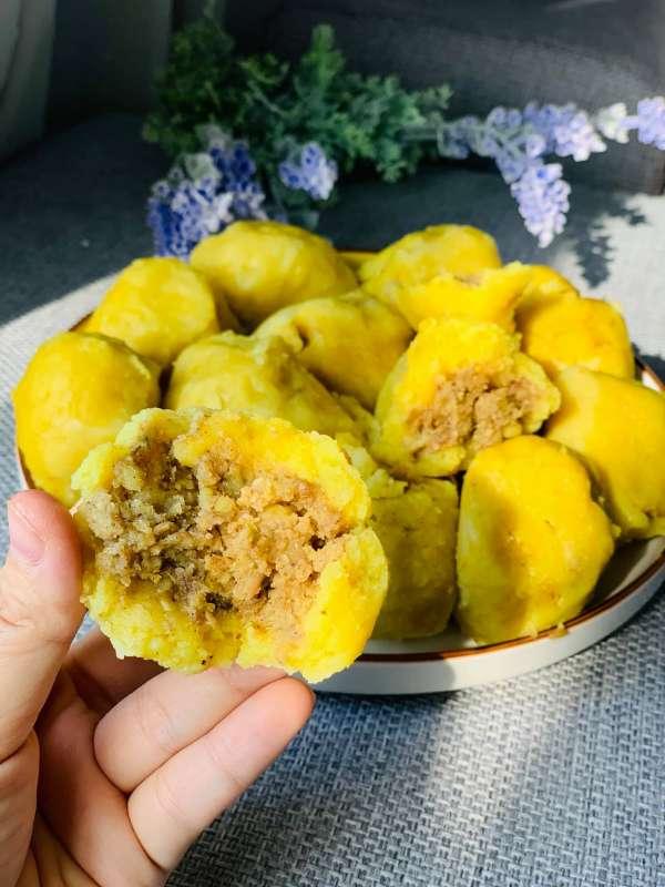 Cách làm Bánh Nghệ, món ngon đặc trưng Thái Bình 3