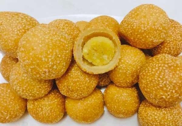 Cách làm Bánh Rán - Món ăn tuổi thơ 66