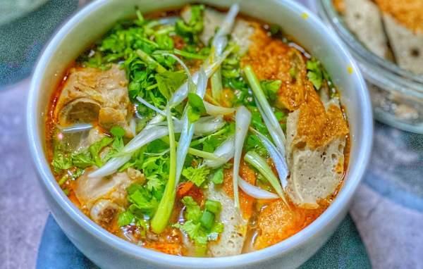 Cách làm Bánh canh chả cá Nha Trang 10