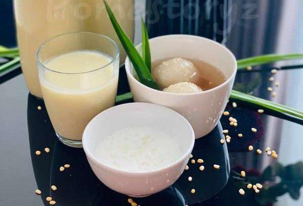 BÍ QUYẾT - Cách làm Chè trôi nước chuẩn vị truyền thống, mềm ngon lịm 11