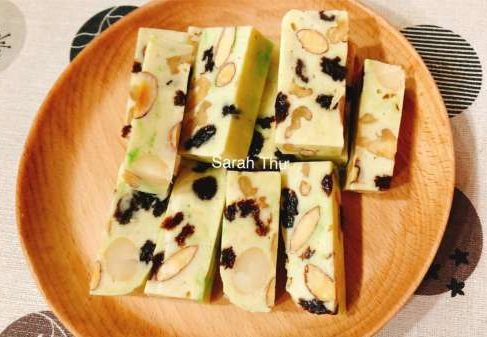 Cách làm Kẹo Nougat – Kẹo Hạnh Phúc, ngon dinh dưỡng cho cả nhà 12