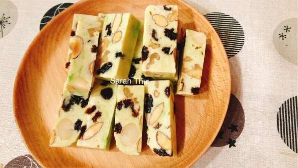 Cách làm Kẹo Nougat – Kẹo Hạnh Phúc, ngon dinh dưỡng cho cả nhà 2