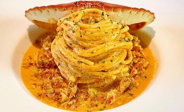 Cách làm Mỳ Ý Cua Pizza 4P -Crab Spaghetti